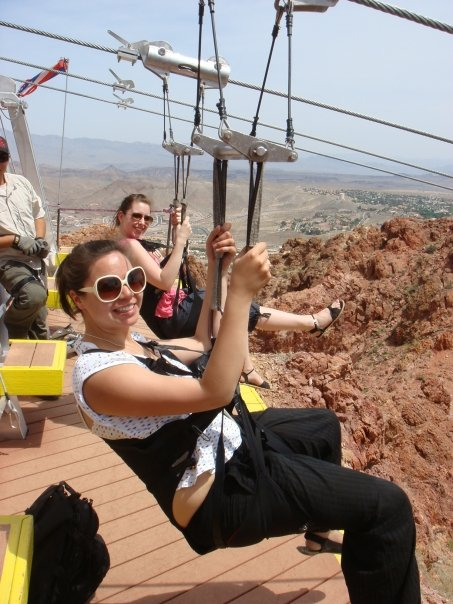 C and I on the zipwire