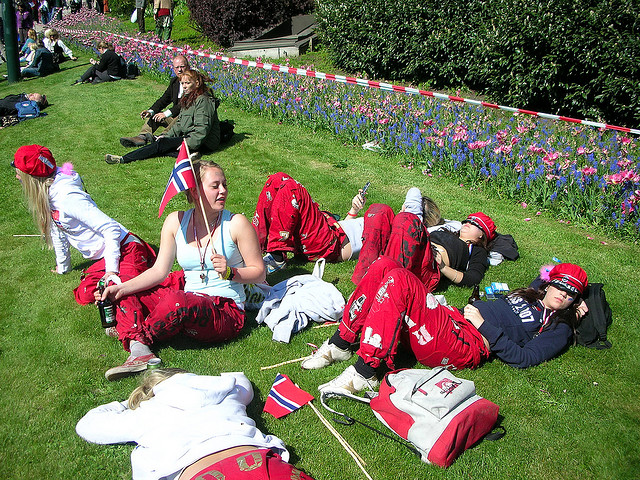 Norwegians graduates