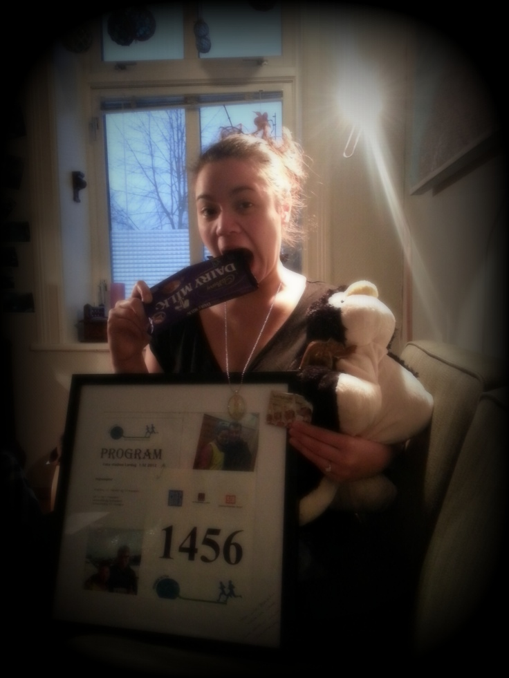 J and her christmas presents