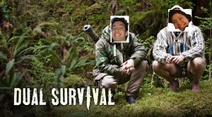 A and I as dual survival experts