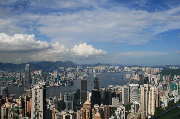 Hong Kong skyline from Victoria Peak