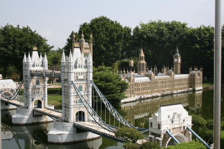 Miniature version of London's Big Ben