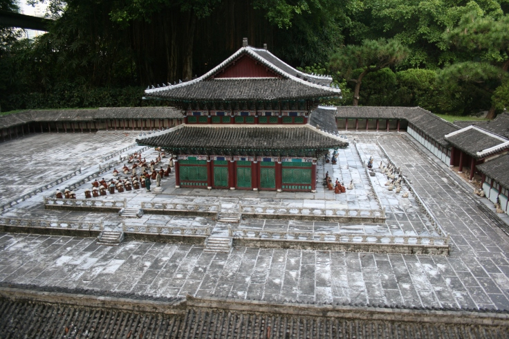 Chinese Temple in small scale