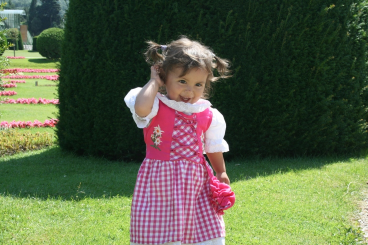 My niece in pink