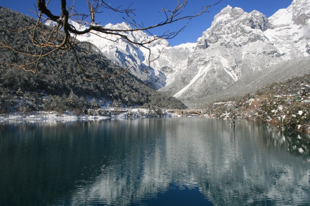 Jade Lake and Snow Dragon Jade Mountain