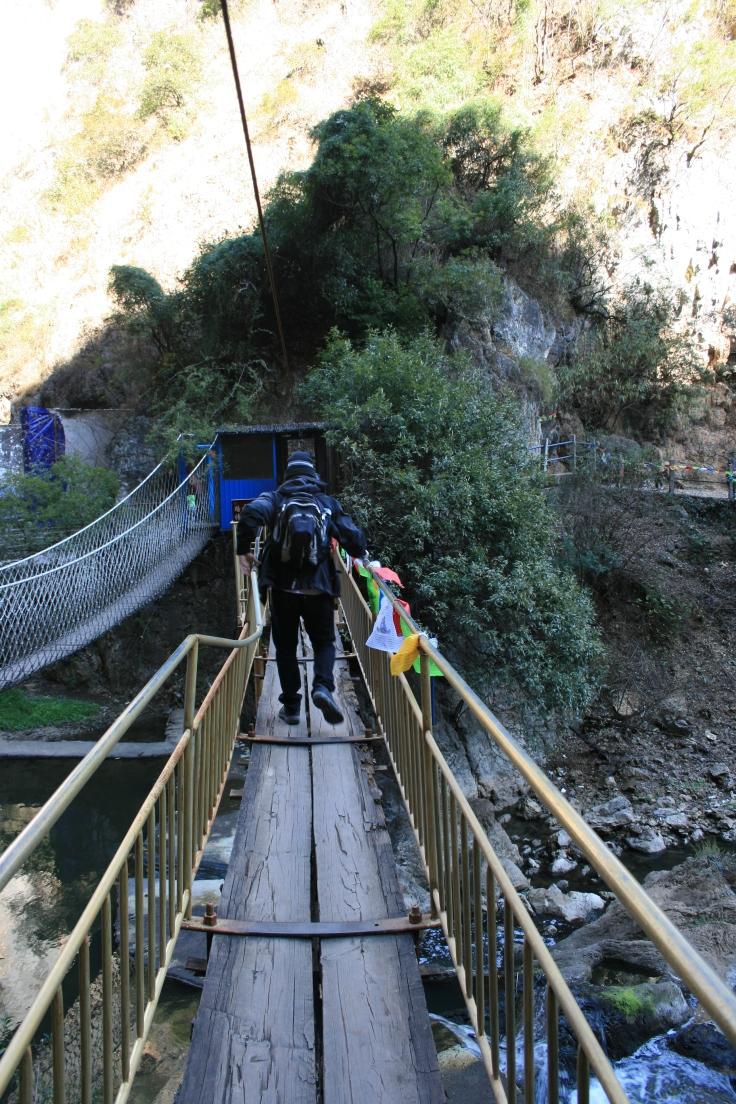 A's fear of bridges