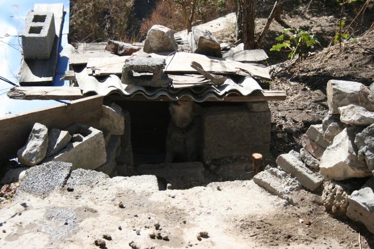 A little hut