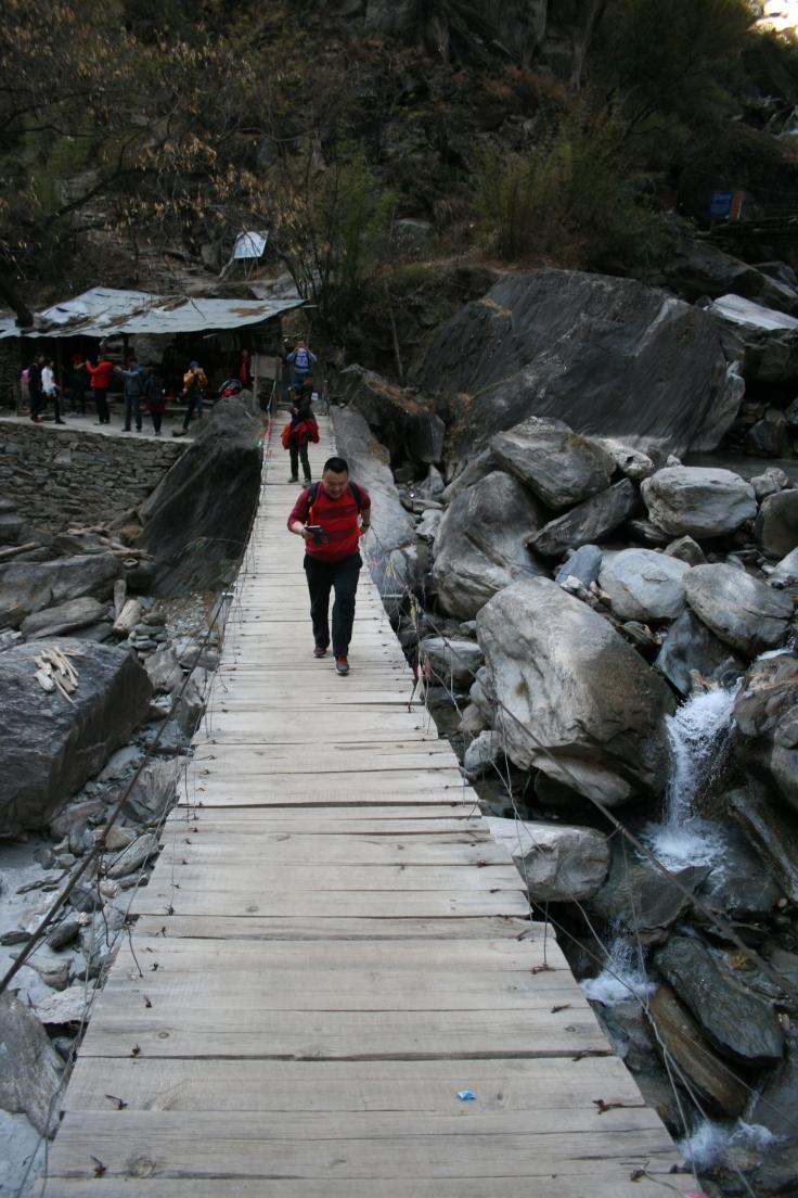 The bridge that sent A over the edge