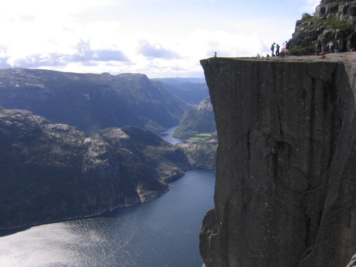 Thanks Wikipedia for Preikestolen Norway