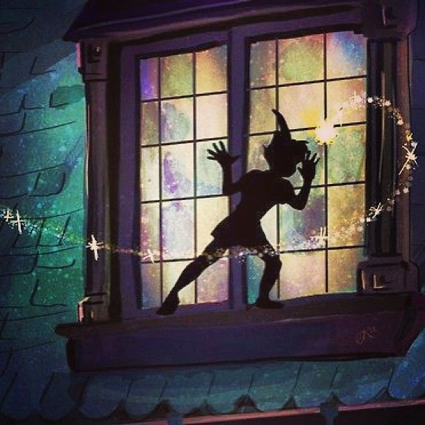 Peter Pan at Wendy's Window, seen at: http://www.helpingwritersbecomeauthors.com