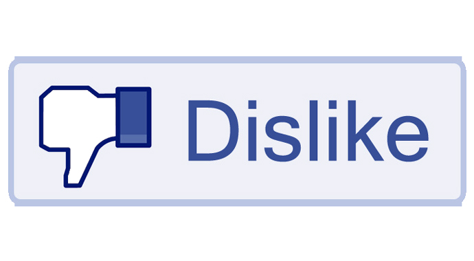 Dislike button by: www.newseveryday.com