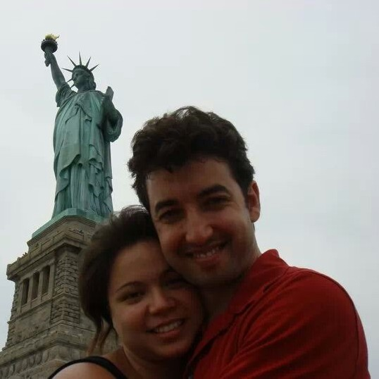 A and J in NYC, USA, July 2009