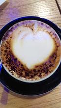 Alessandro's cappuccino in the Jewish Ghetto