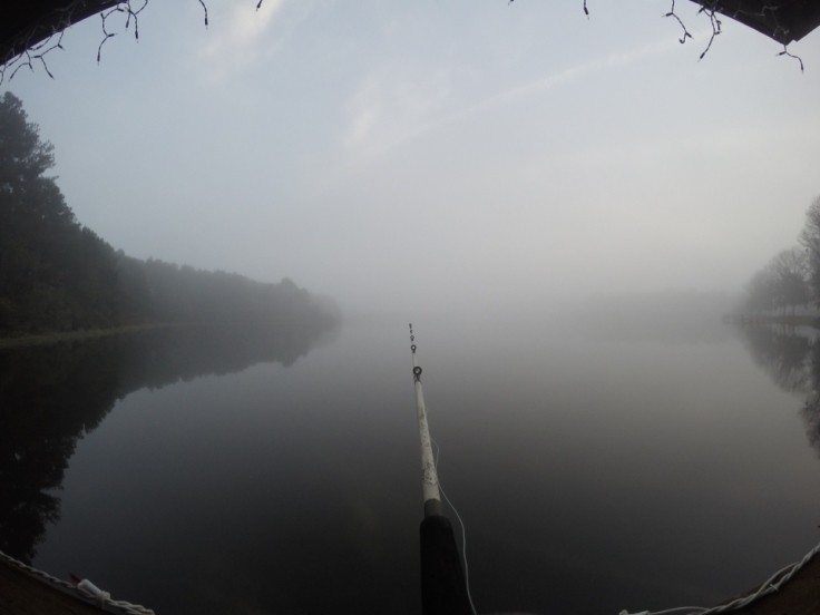 Fishing with moderate to no success