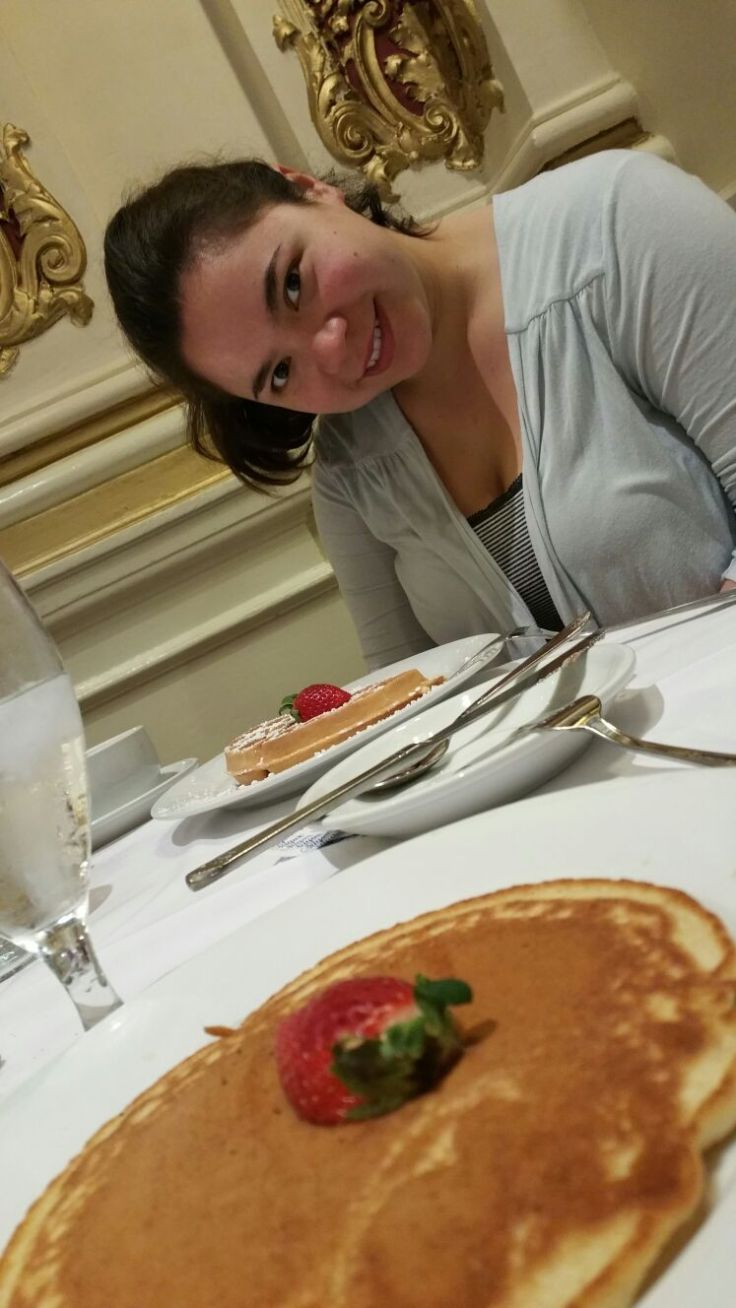 Breakfast at Le Pavillon