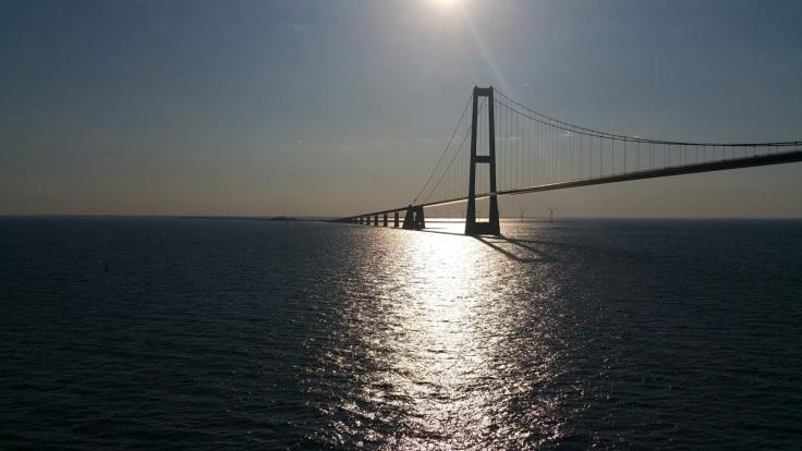 Øresund bridge: from Sweden to Denmark