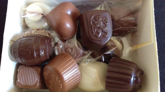 Life is like a box full of chocolate... Made by Chocolatier-Confiseur Boulanger