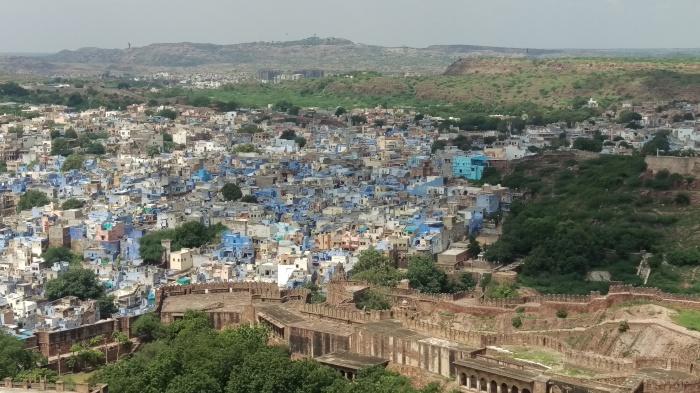The blue city, Jodhpur
