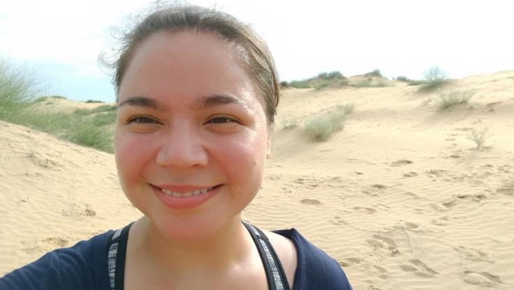 Me in the Thar desert.
