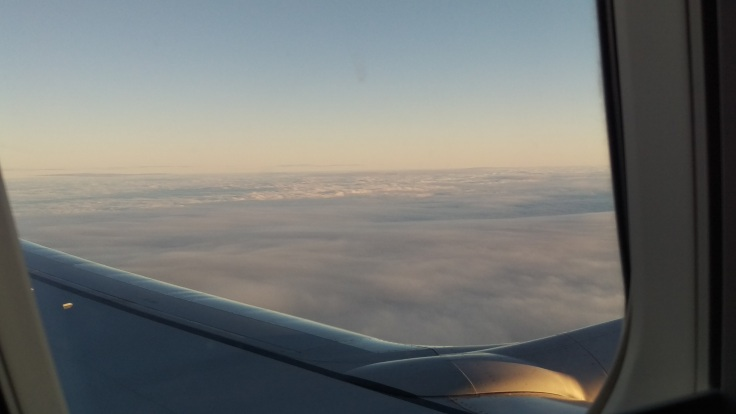 Always sunny above the clouds