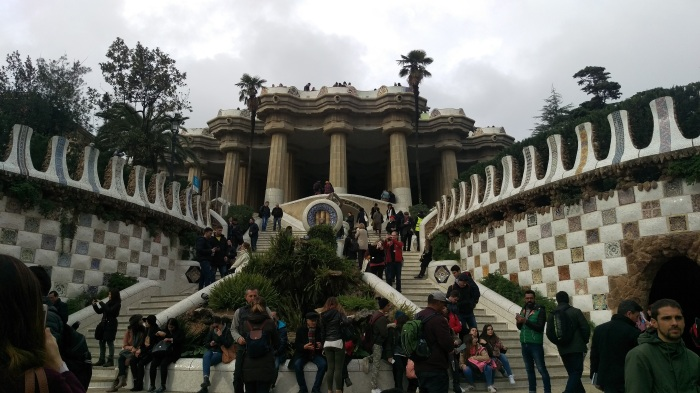 In between eating we also stopped at the Park Güell