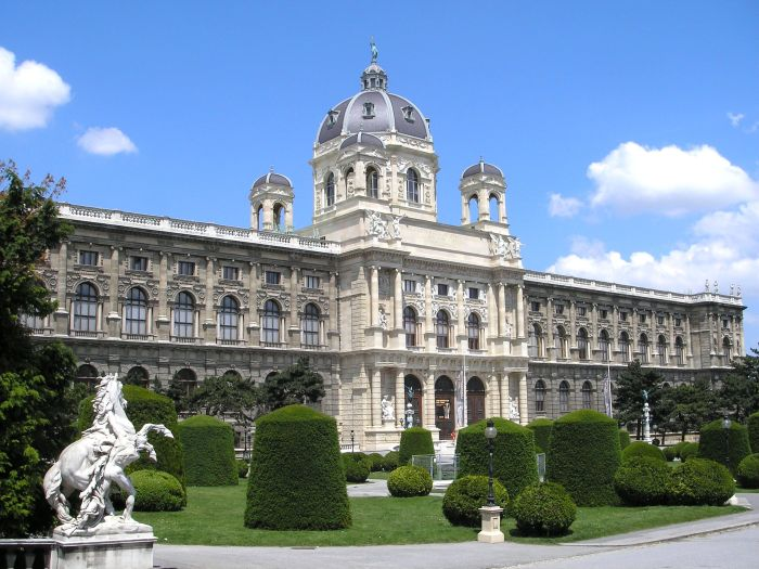 Naturalhistory Museum in Vienna, courtesy wikipedia