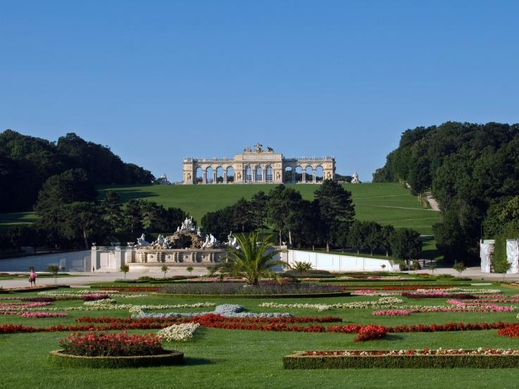 Gloriette in Schönbrunn, courtesy wikipedia