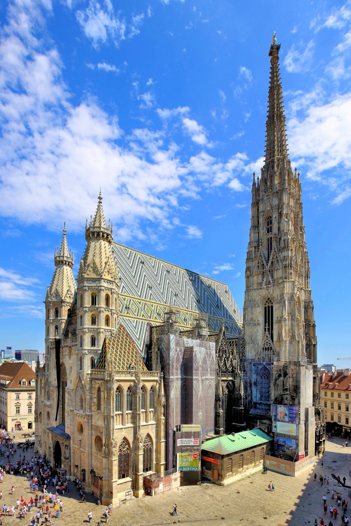 Stephansdom, courtesy wikipedia.